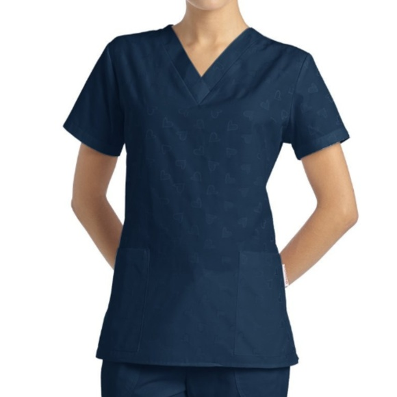 ec3a9fd03ab White Cross Tops | 2xl Medical Uniform Scrub Top Dobby | Poshmark